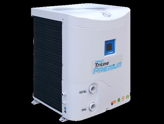 Poolex triline premium pompe chaleur verticale toute - Pompe a chaleur piscine verticale ...