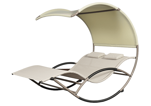 Chaise relax duo cocoon poolstar for Chaise longue pour deux