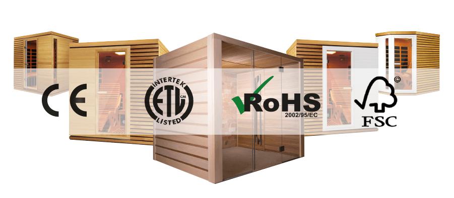 Compatible pour tous saunas