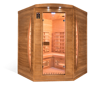 Sauna Spectra 3 places