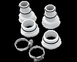Connecteurs PVC diamètre 32 - 38 mm