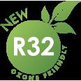 Gaz R32 Ozone Friendly